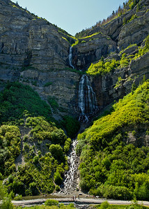 Bridal Veil falls, Utah
