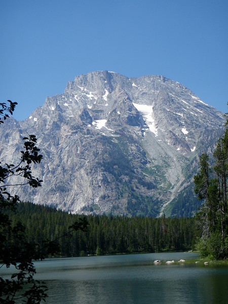 Mt. Moran from String Lake