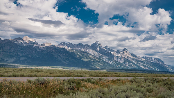 Grand Teton National Park - Less smoke this year.