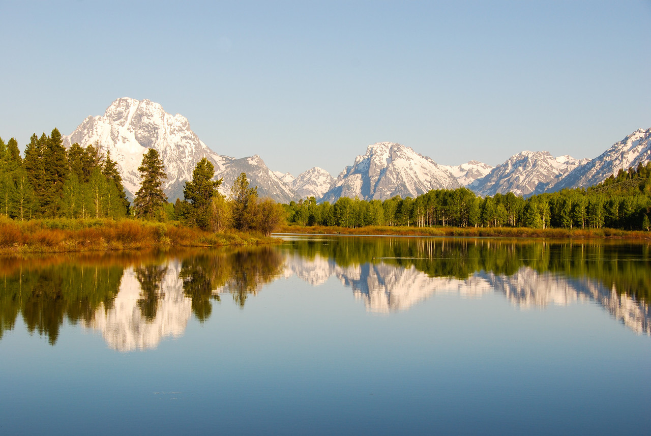 The view from the Oxbow Bend