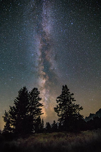 Darkness in Grand Teton NP