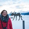 Nancy At National Wildlife Museum - Jackson Hole