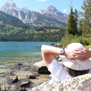 Tetons - Phelps Lake hike