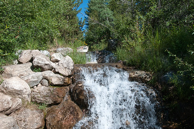 Tetons - Phelps Lake Hike - falls