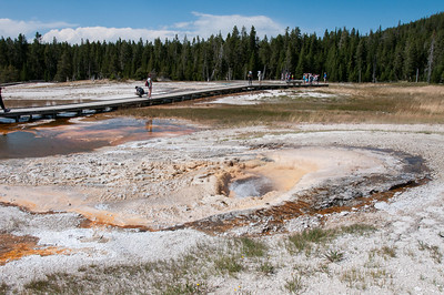 Yellowstone - geothermal feature