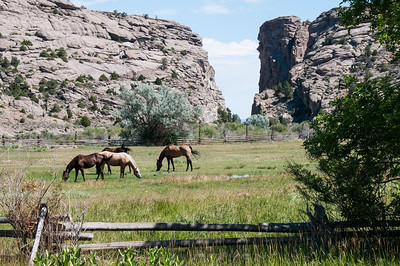 Wyoming - Devil's Gate on Oregon Trail