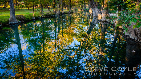 Blue Hole Reflections