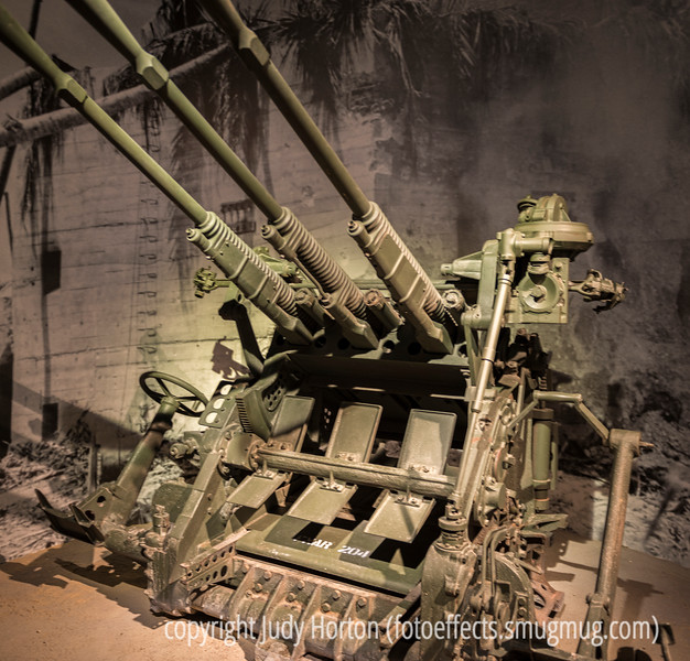 WWII Anti-Aircraft Gun