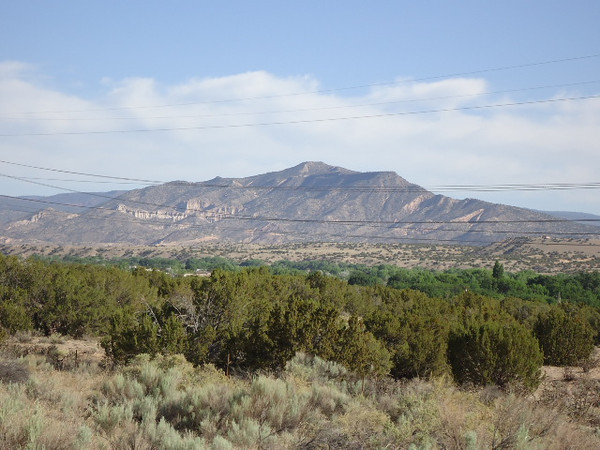 Mountains of New Mexico, no pictures of Texas, it was just too dismally dry.
