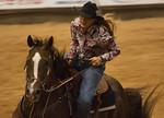 Cowgirl Barrel Races - Pasadena Rodeo 2-12