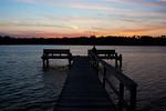 Late Sunset At Mud Lake, Seabrook, Texas, 2011.