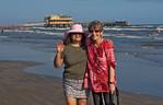 MaryEllen Visits Sue, Galveston, Texas 2012