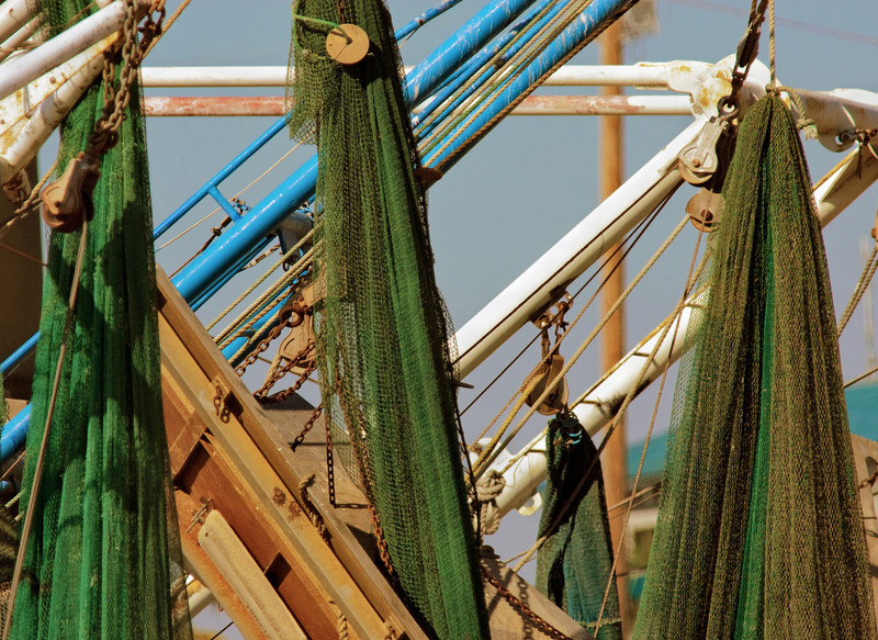 Fish Nets -What Seabrook and Kemah Used To Be-Seabrook, Texas