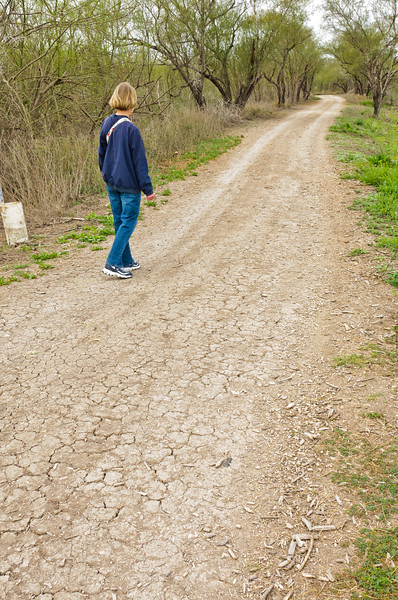 Road in Santa Ana Rufuge