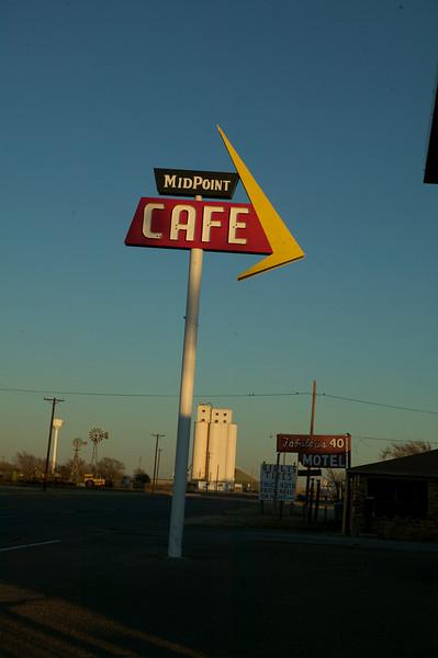 Adrian, Texas.