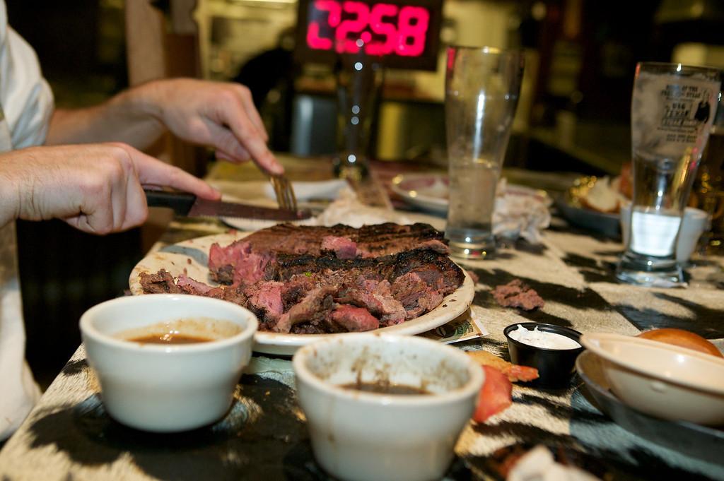 The Big Texan Steakhouse in Amarillo, Texas.