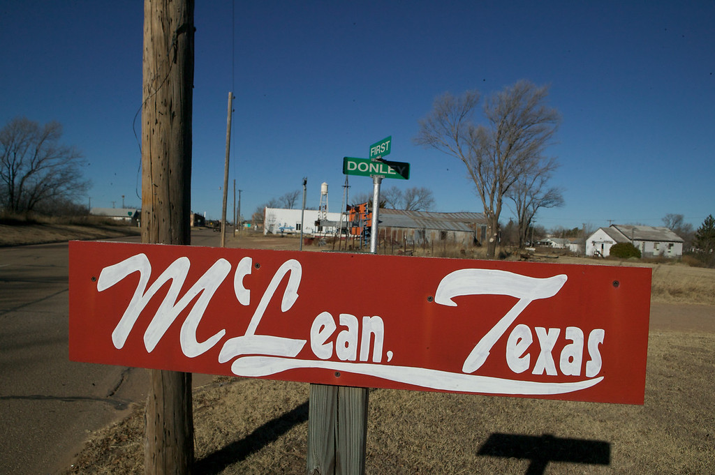 McLean, Texas, home of the Devil's Rope Museum.