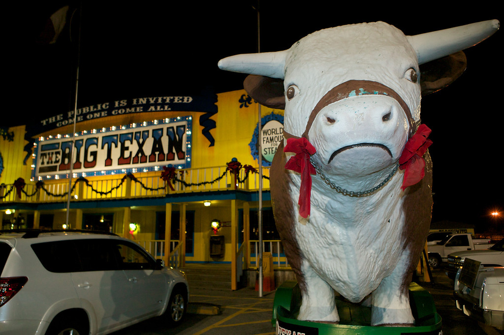 The Big Texan Steakhouse in Amarillo, Texas.