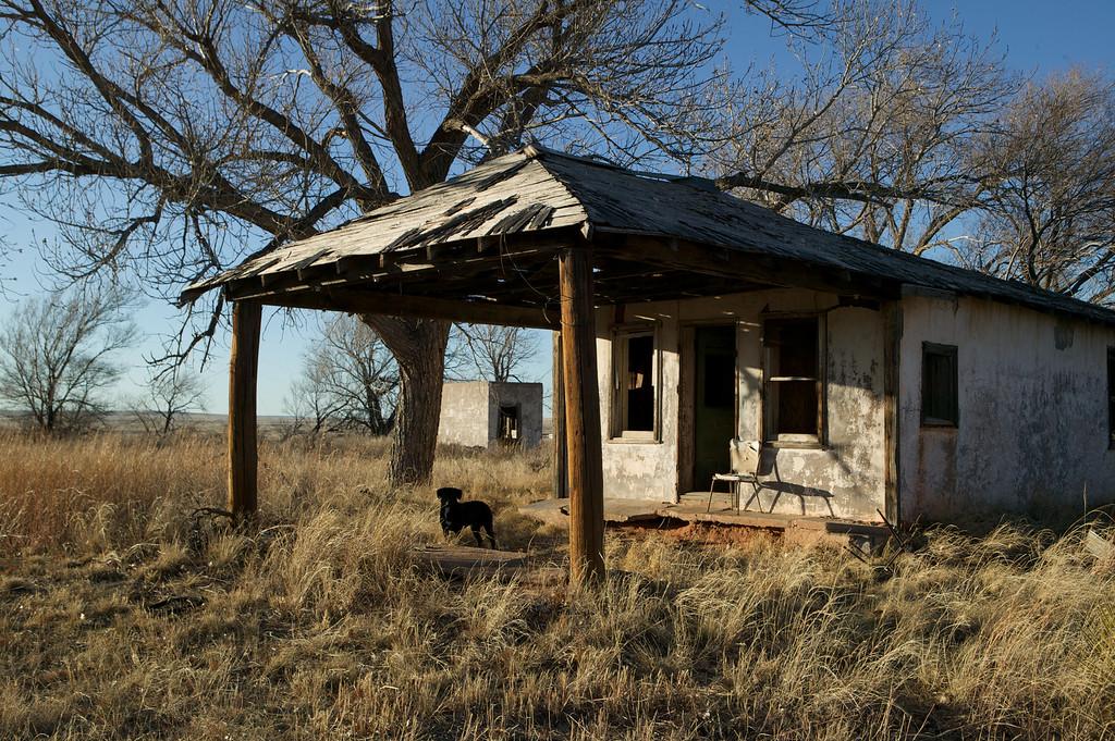 Glenrio, Texas.