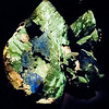 Azurite and Malachite<br /> <br /> Houston Museum of Natural Science