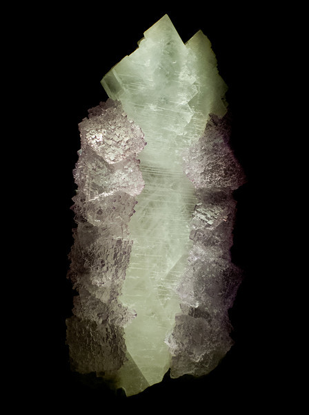 Flourite & Celestine<br /> <br /> Houston Museum of Natural Science