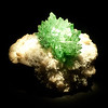 Fluorapophyllite<br /> <br /> Houston Museum of Natural Science