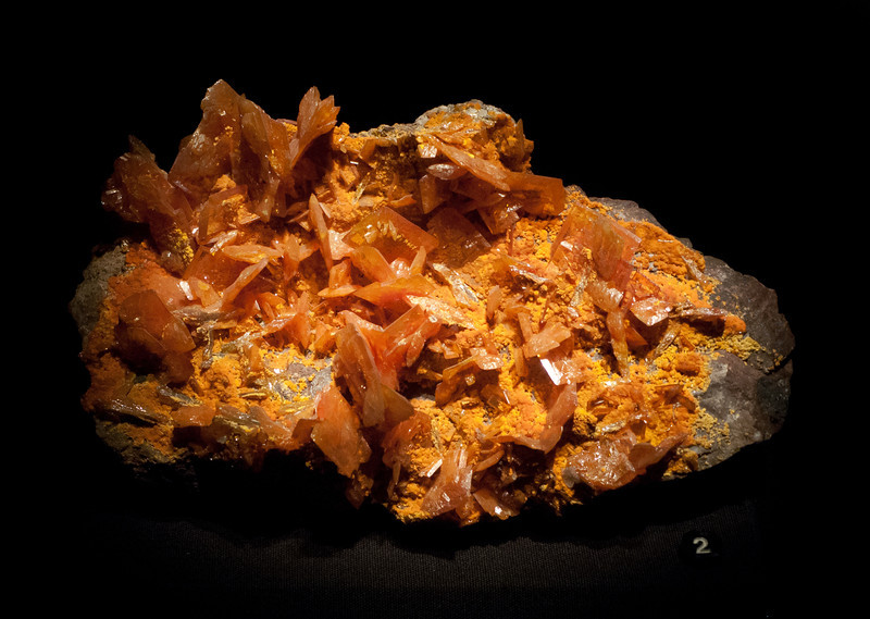 Wulfentie & Mimetite<br /> <br /> Houston Museum of Natural Science