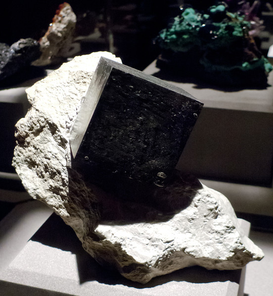 Pyrite (?)<br /> <br /> Houston Museum of Natural Science