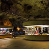 Carlsbad Caverns in New Mexico.  Underground stores.