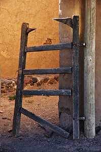 Old gate at Fort Leaton.