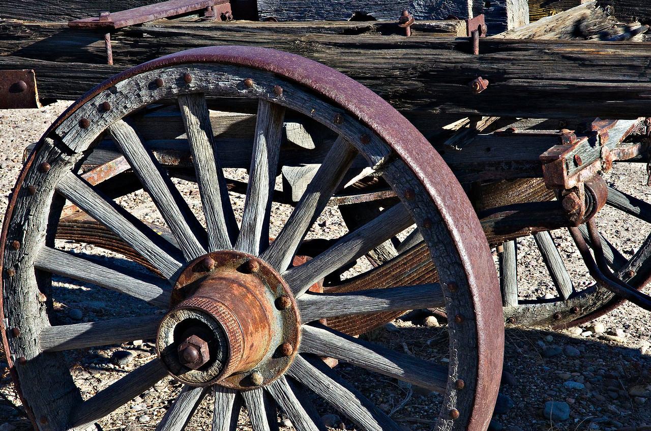 Old Wagon at Castolon.