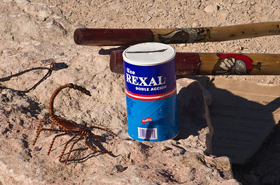 Illegal souveniers made in nearby Boquillas del Carmen, Coahuila Mexico and carried across the border to sell to tourists visiting Boquillas Canyon.