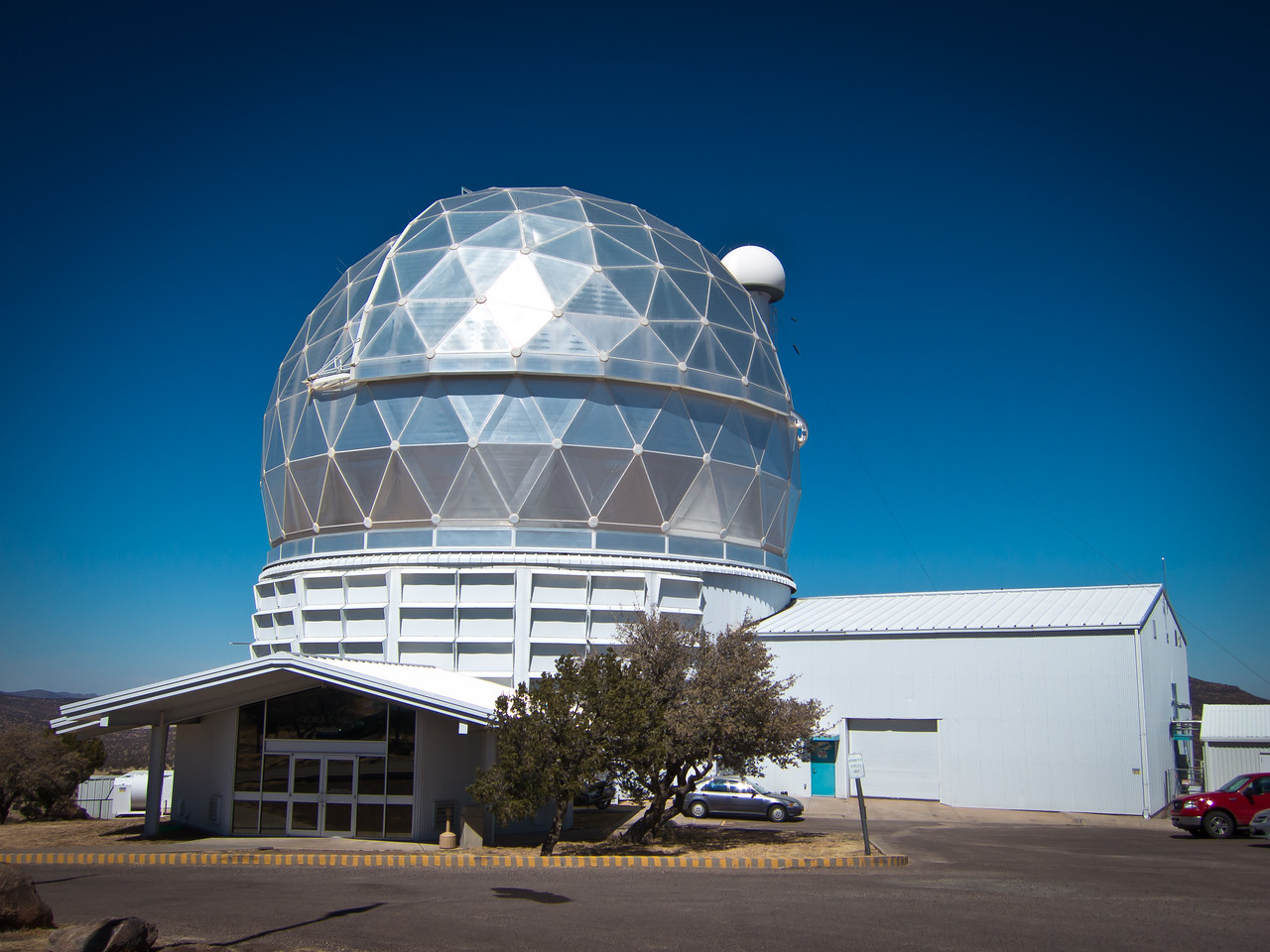 McDonald Observatory in Davis Mountains, TX