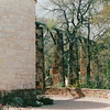 Viaduct System for Rainwater to Water Gardens - Lady Bird Johnson Wildflower Center, Austin, TX  3-9-00