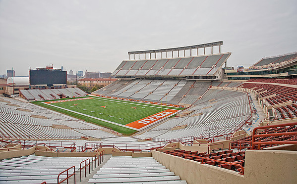 Darryl K Royal - Texas Memorial Stadium. Home of the Texas Longhorns