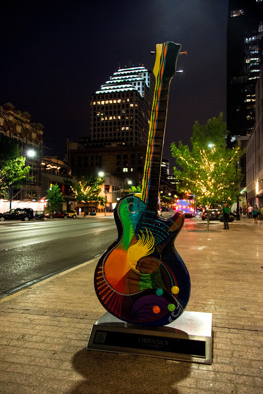 Vibrance Guitar - Congress Street - Austin - Texas - USA
