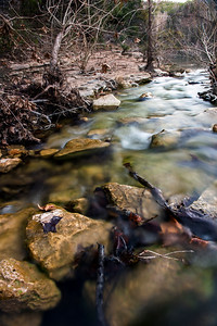 Bull Creek - St. Edwards Park - Austin - Texas - USA - Professional Photography - Winter Waterscape