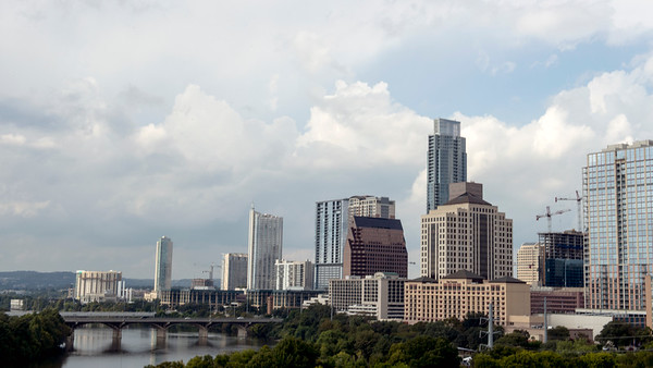 Downtown Skyline  - Austin - Texas - USA
