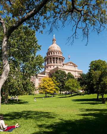 Texas State Capitol Building - Downtown - Austin - Texas - USA
