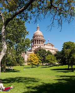 Texas State Capitol Building - Downtown - Austin - Texas - USA