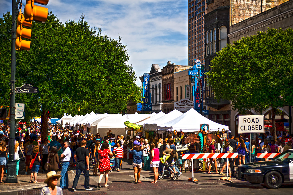 Pecan Street Festival - Austin - Texas - USA
