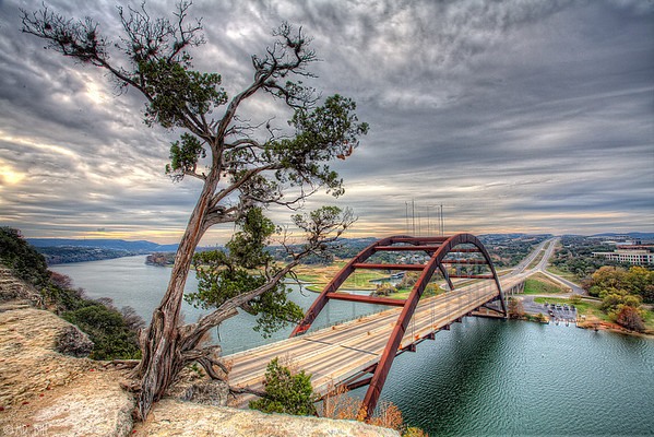 Pennybacker Bridge on the 360 Loop in Austin, TX