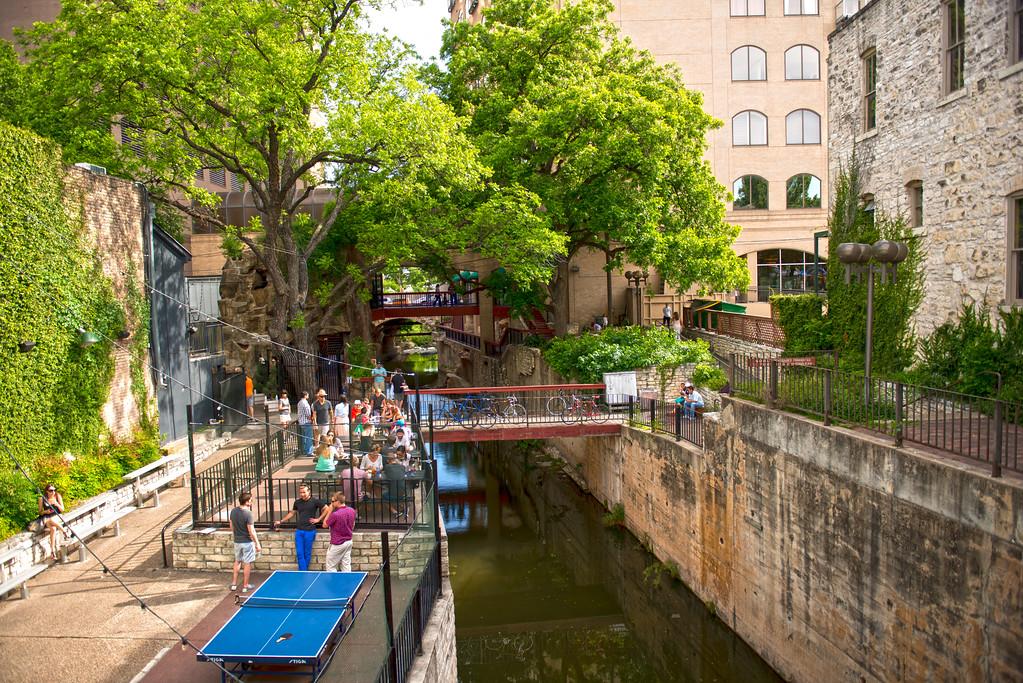 Waller Creek at Sixth Street - Austin - Texas - USA