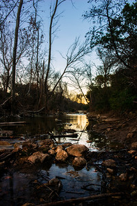 Bull Creek - St. Edwards Park - Austin - Texas - USA