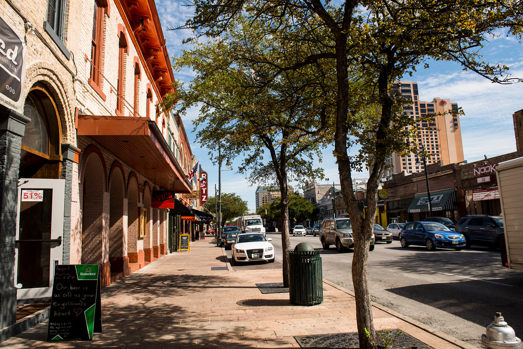 Sixth Street - Downtown - Austin, Texas - Professional Cityscape Photography