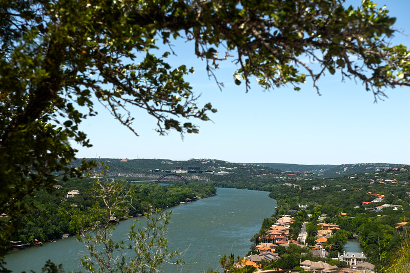 View from Mt. Bonnell - Austin - Texas - USA