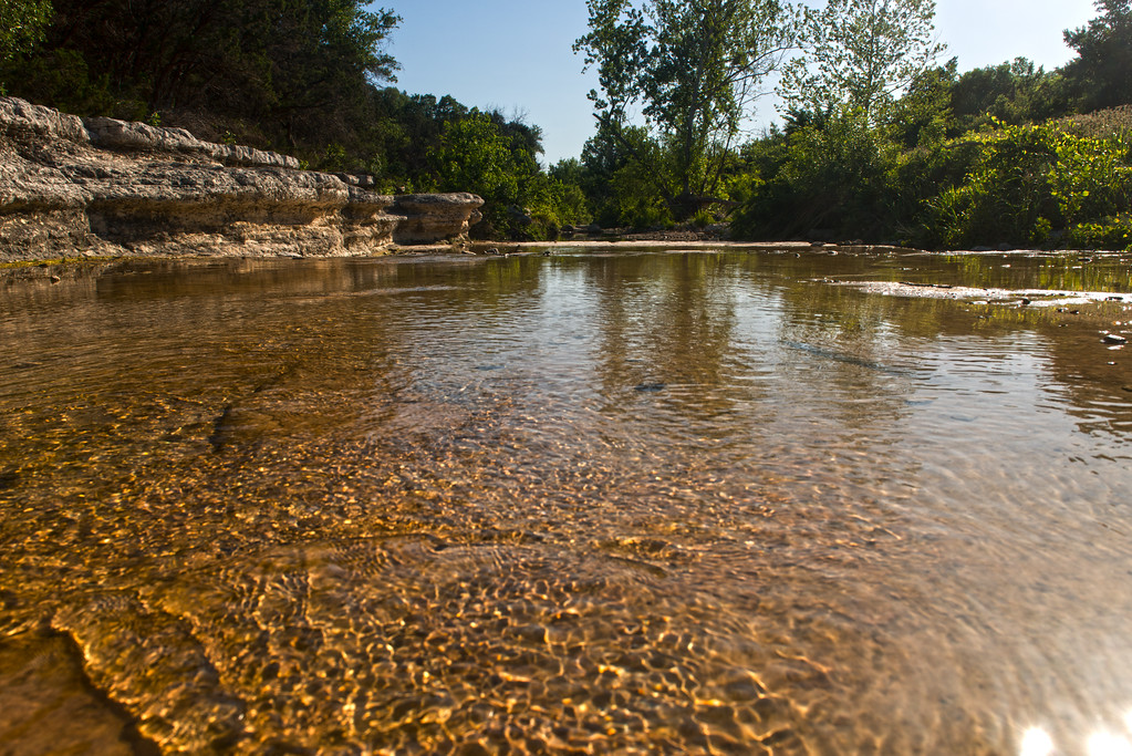 Bull Creek, Austin, Texas - Professional Waterscape Photography