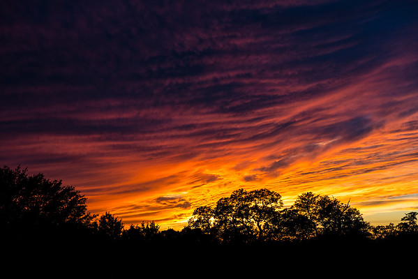 Sunset - Austin - Texas - USA