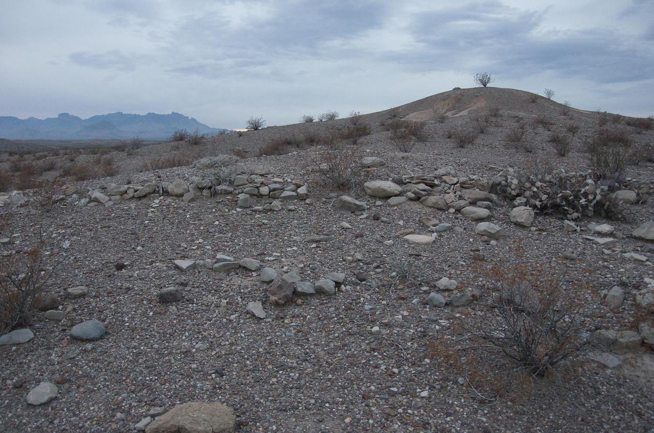 Ruins at La Noria