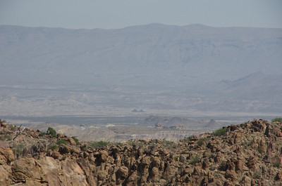 View of Black Peaks from Grapevine HIlls